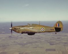 Canadian Hawker Hurricane. Always thought the hurricane was a much better looking plane than the spitfire.