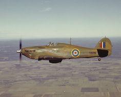 Canadian Hawker Hurricane.