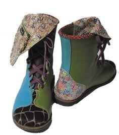 zapatos de diseño unico - PISAVERDE,diseño y producción de calzado ARTESANO