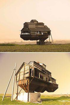 10 Homes that Defy Gravity (Defy Gravity) - ODDEE