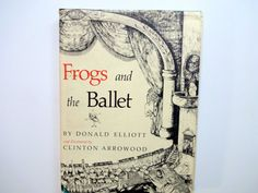 Vintage Frogs and the Ballet Hardback Book 1979 by WylieOwlVintage, $10.00