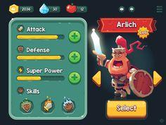 game avatar editor by Paul Lamy de La Chapelle