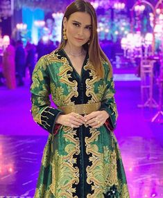 Plan Your Food Plan In Real 'Melonish' Style - My Website Moroccan Caftan, Caftan Dress, Hijab Fashion, Women's Fashion, Pretty Dresses, Evening Dresses, Kimono Top, Casablanca, Saree
