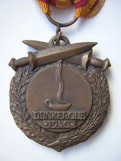 Dunkirk Medal by École des Metiers d'Art Paris
