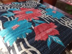 Vintage Kantha Quilt Cotton Kantha by IndianHomeTextile on Etsy, $43.99