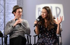 Eliza Butterworth Photos - Actors David Dawson and Eliza Butterworth discuss their roles in BBC 2's The Last Kingdom at the Build LDN event on April 19, 2017 at AOL Studios in London, United Kingdom. - BUILD LDN: The Cast of BBC 2's 'The Last Kingdom'