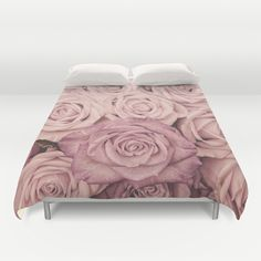 Some people grumble that roses have thorns; I am grateful that thorns have roses. Duvet Cover and many more products available with this beautiful image. By UtArt
