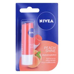 Nivea Peach Shine Lip Balm Moisturizing protects the lips from sun damage. The product does not contain lead, is safe for the lips and helps to nourish the lips soft. It contains natural peach flavor to give you a pleasant feeling. Soft Lips, Natural Lips, Claire's Makeup, Peach Lips, Makeup Makeover, Lip Care, Body Butter, Body Scrub, Beauty Care