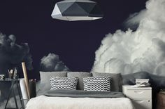 Dark Clouds Wall Mural-Landscapes & Nature-Eazywallz