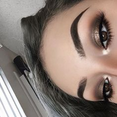 #anastasiabrows @esbeidymakeup Using #Dipbrow in Medium Brown and Brow Powder in Chocolate #anastasiabeverlyhills