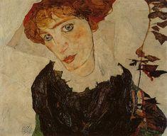 Portrait of Valerie Neuzil, 1912