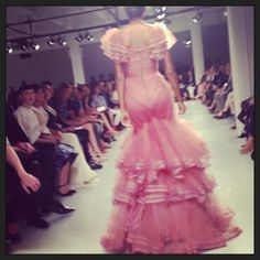 Blown away by #ZacPosen!! #NYFW