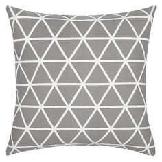 Buy Storm House by John Lewis Isometric Cushion from our Cushions range at John Lewis & Partners. Free Delivery on orders over Scatter Cushions, Cushions On Sofa, Throw Pillows, Copper Blush, Contemporary Cushions, Cushions Online, Triangle Print, Lounge Decor, Pink Room