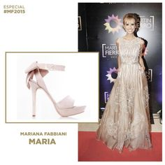 Especial #MF2015 @marianafabbiani con sus #MARIA