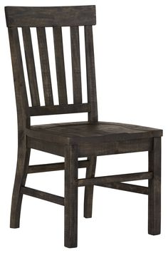 Dining room furniture and chairs from City Furniture. Dining sets online and in stores. Dining Room Chairs, Dining Room Furniture, Dining Set, Side Chairs, Grey Wood, Wood Wood, Gray, Trestle Table, City Furniture