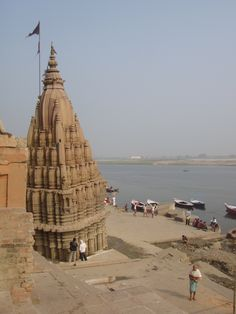 By the ghats in Varanasi #India