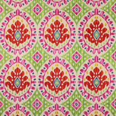 Bella Fabric - Cowtan Design Library, Manuel Canovas in Rose indien