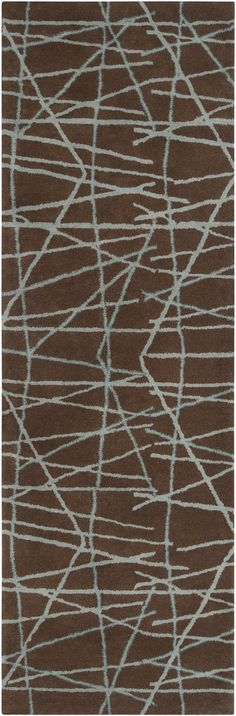 $626 - Bombay Rug - I Love this rug!  Pale blue and brown colorway help it play well with others... 8x5
