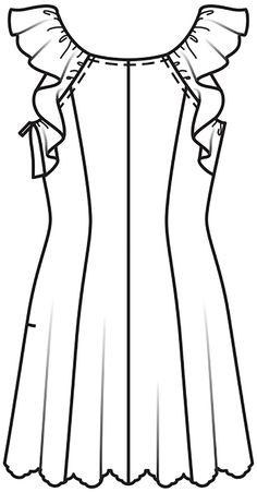 Burda Style Vestido - MUJER - PATRONES PARA DESCARGAR - TIENDA BURDA