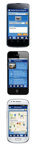 MyLA 311 Smartphone Mobile Application