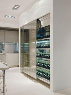 Arclinea wine fridge