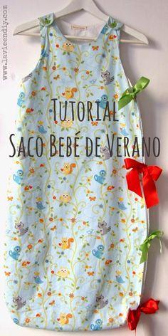 Tutorial costura fácil: SACO DE BEBÉ DE VERANO