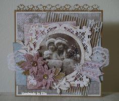 Ellie's Kaarten: Vintage kerst Vintage Christmas, Christmas Cards, Marianne Design, Vintage Cards, Decorative Boxes, Frame, Crafts, Handmade, Scrapbooking