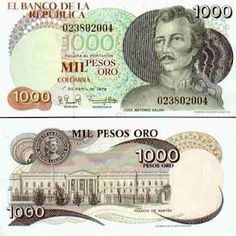 Moneda de Colombia Pride And Glory, Colombia South America, Old Money, How To Speak Spanish, Stamp, History, Country, World, Finance