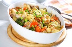 This recipe comes straight from Dr. Oz's kitchen. Not only does this veggie combo provide a bounty of vitamins and minerals, it's also very easy to make and can serve as a main or side dish.