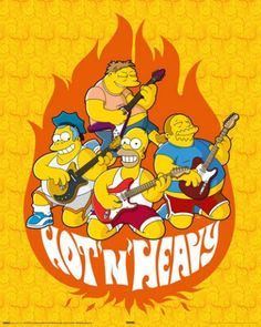 Die Simpsons - Hot And Heavy, Homer Band
