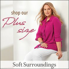 Shop Soft Surroundings Now! Grey Hair Young, Maurices Plus Size, Curvy Skinny Jeans, Soft Surroundings, Waffle Knit, Lace Knitting, Get Dressed, Plus Size Women, Beautiful Outfits