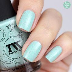 Masura nail polish Minty Milk