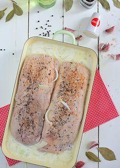Kielbasa, Pork Chops, Pork Recipes, Camembert Cheese, Sushi, Grilling, Paleo, Food And Drink, Tasty