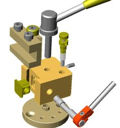 Cool Tools, Diy Tools, Metal Lathe Tools, Cnc Lathe Machine, Mechanical Engineering Design, Machinist Tools, Drill Guide, Industrial Machine, Maker Shop