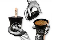 The Potted Pie by Nathan Smith, via Behance