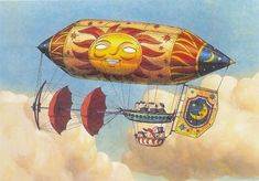 Imaginary flying machines.jpg. Directed by, Hayao Miyazaki
