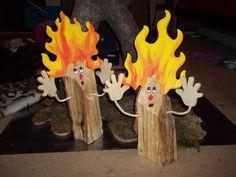 Figuren aus Kaminholz : Feuer & Flamme - die Rindenviecher