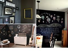totally feeling a chalkboard room