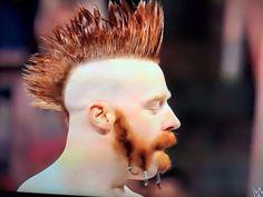 THAT mohawk! Hairstyle App, Look 2015, Sheamus, Mohawk Hairstyles, Wwe, New Look, Braids, Hair Styles, Bang Braids