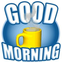Animated Good Morning Coffee Cup