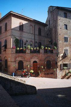 Certaldo, Florence, Tuscany, Italy
