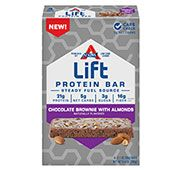 Lift Chocolate Brownie with Almonds Protein Bar - Click for More Information