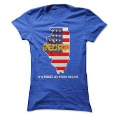 Peoria - Its Where My Story Begins! T Shirt, Hoodie, Sweatshirt