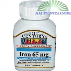 Gvožđe 65 mg sa fero-sulfatom 325 mg