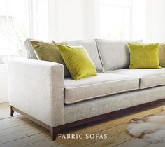 Leather & Fabric Designer Sofas | Darlings of Chelsea