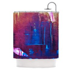 Cityscape Abstracts by Malia Shields Shower Curtain