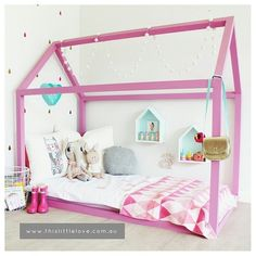 This Little House - DIY CUBBY In love with this and the other quirky products available in this store!