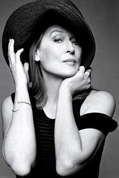 Meryl Streep- aka who I want to be when I grow up