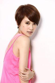 Rainie Yang  love her hair!