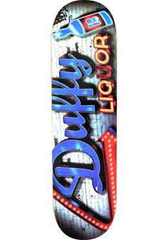 Plan-B Duffy-Store-Front, Deck, multicolored Titus Titus Skateshop #Deck #Skateboard #titus #titusskateshop